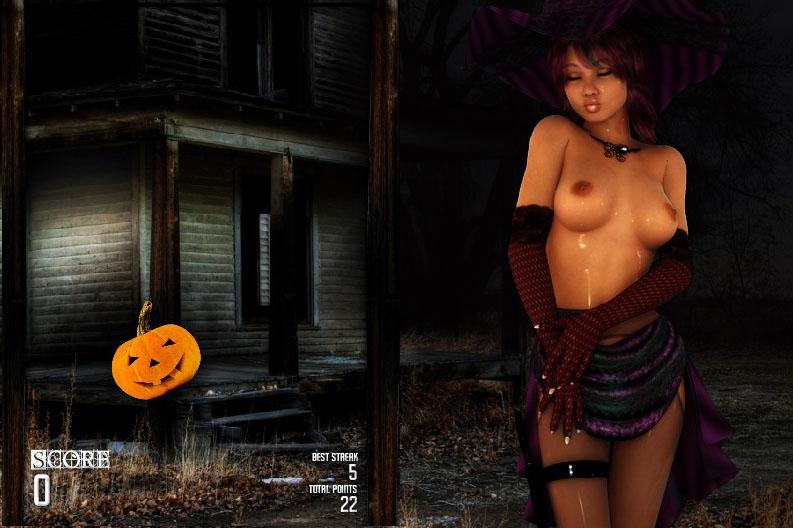 Adult flash games halloween