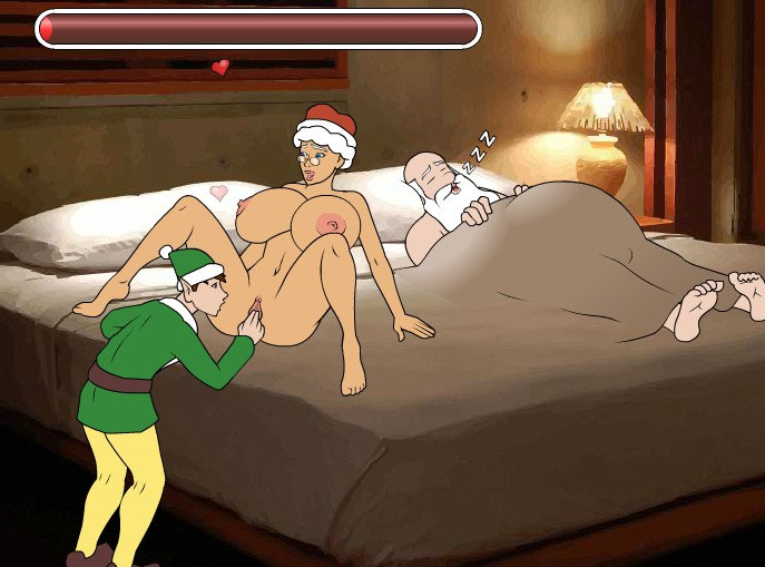 mrs claus porn game