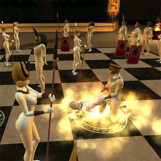 Порно шахматы