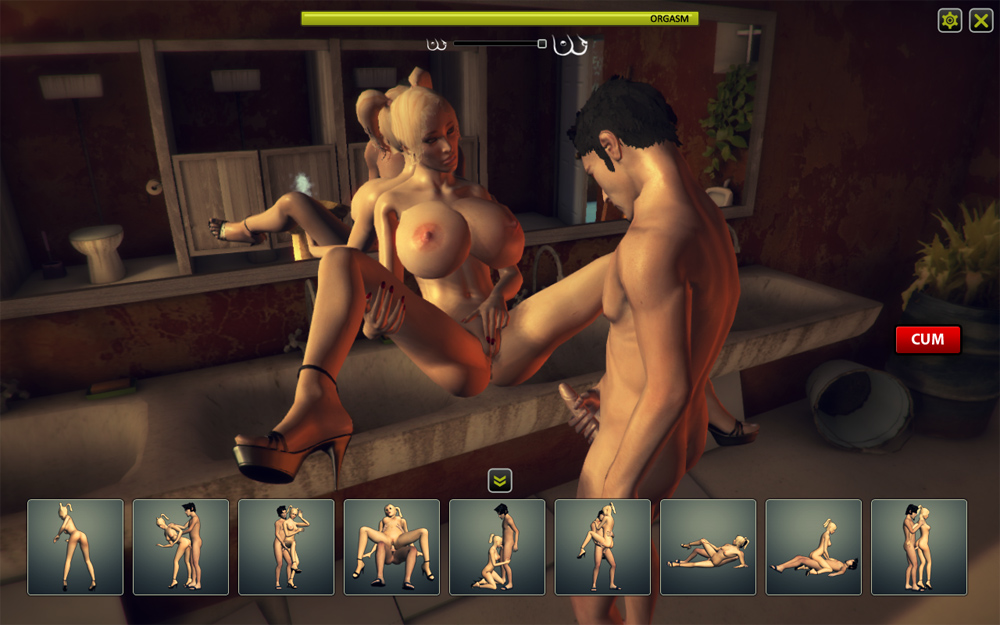 Virtual sex stimulator