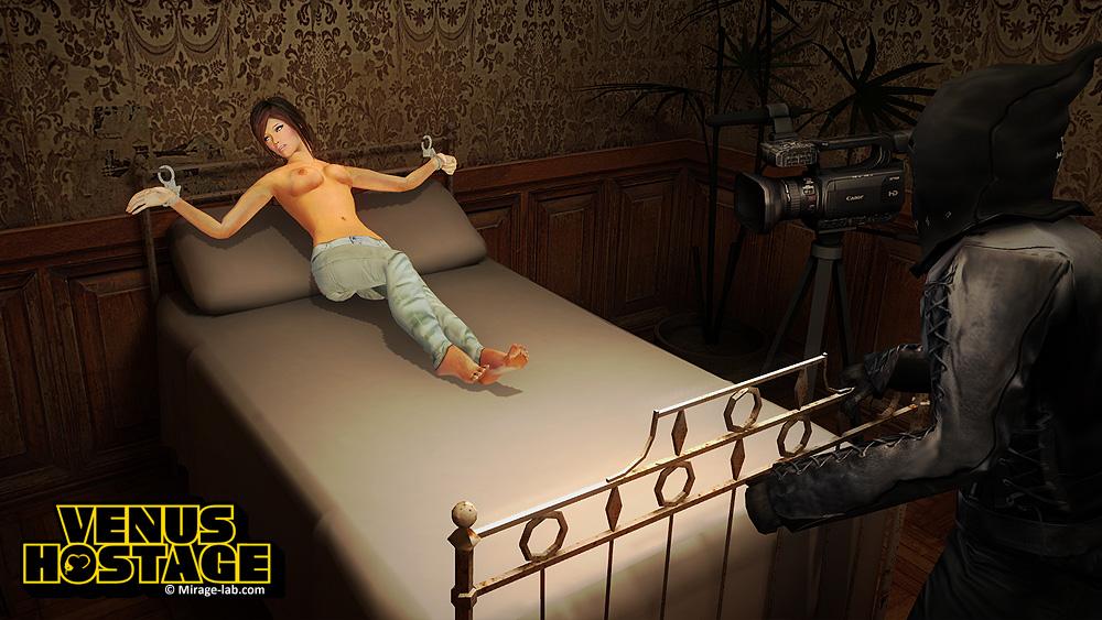 Venus Hostage The Game Screen Shot 1