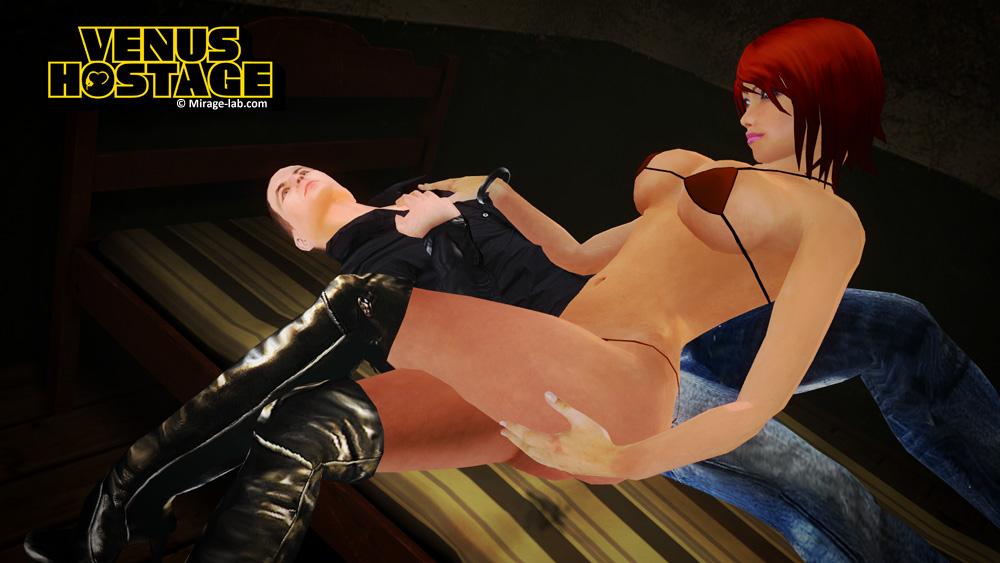 ... Venus Hostage - The game... screen shot 3 ...