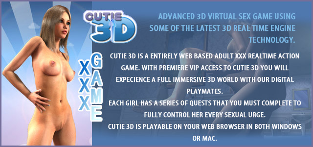 Cutie 3d - advanced 3d virtual sex game
