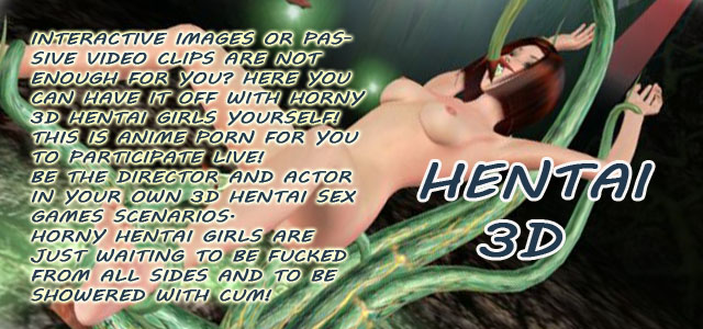 Hentai 3d - anime porn games for you