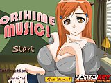 Bleach Hentai - Online anime game - Fuck sexy redhead Orihime to the music, hit the corresponding key when the yellow ciycles hits letters.