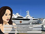 Sexy Boat Rider - Sex flash game:Help this sexy brunette to find her boat, win the race and take her to the hotel. Fuck her slow and fast, play with h