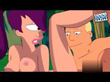 Leela Fucking - When the evil Aliens came to the Garden they force Leela to fuck Fry. Leela starts sucking his dick. Watch new uncensored version of F