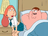 Family Guy Anal Fuck - Lois has been a baaad girl and wants her punishment. Watch Peter fucking his wife Lois in the ass.