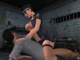 Pleasure in Jail - Look how the sexy Prison Officer lady is making hot handjobs and fucks law disobedient people. Other inprisoned also don`t waste ti