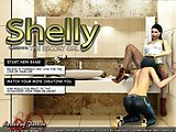 XXX game for adults - Shelly the escort girl